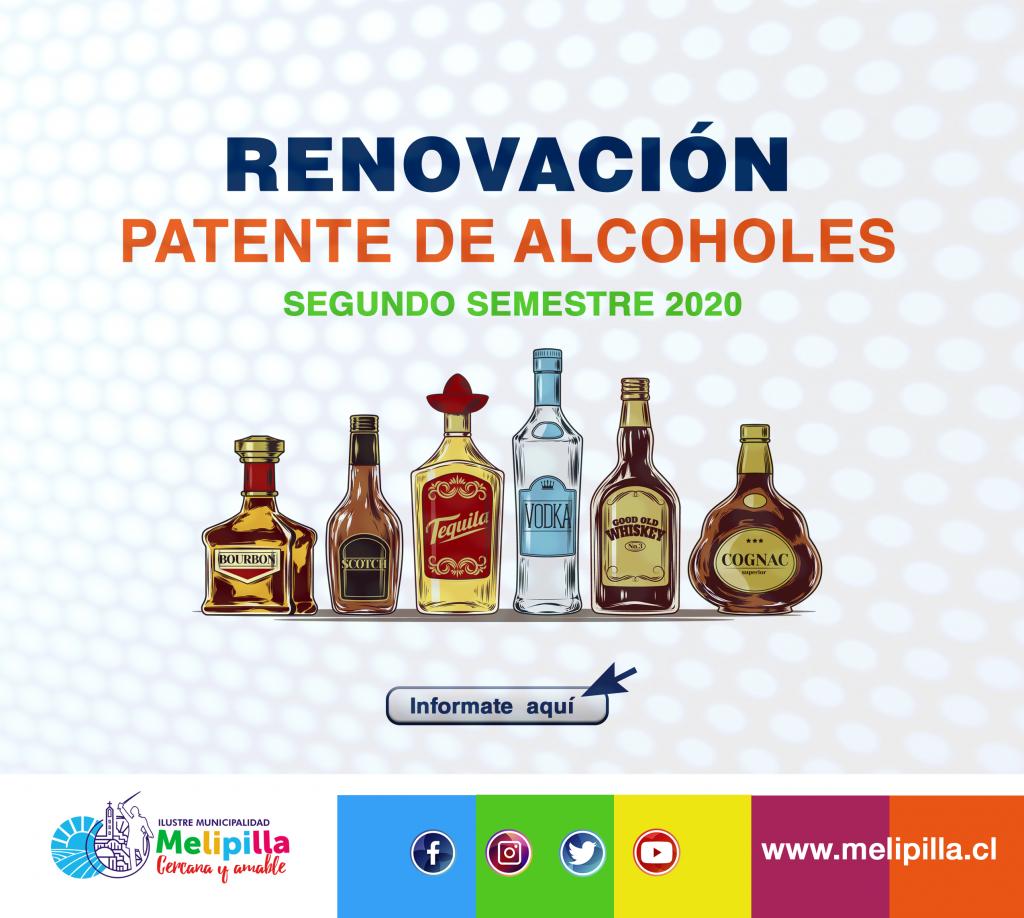 patente de alcoholes