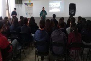 Charla colegio San Sebastian 2019