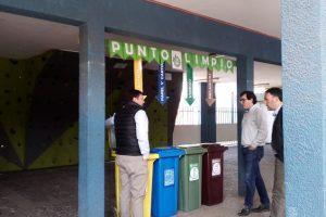 Demostracion reciclaje colegio los jamines