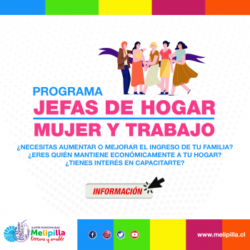 POP PROGRAMA JEFAS DE HOGAR, MUJERES Y TRABAJO