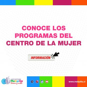 POP PROGRAMAS CENTRO DE LA MUJER