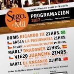 Afiche Santiago a Mil, Melipilla 2012