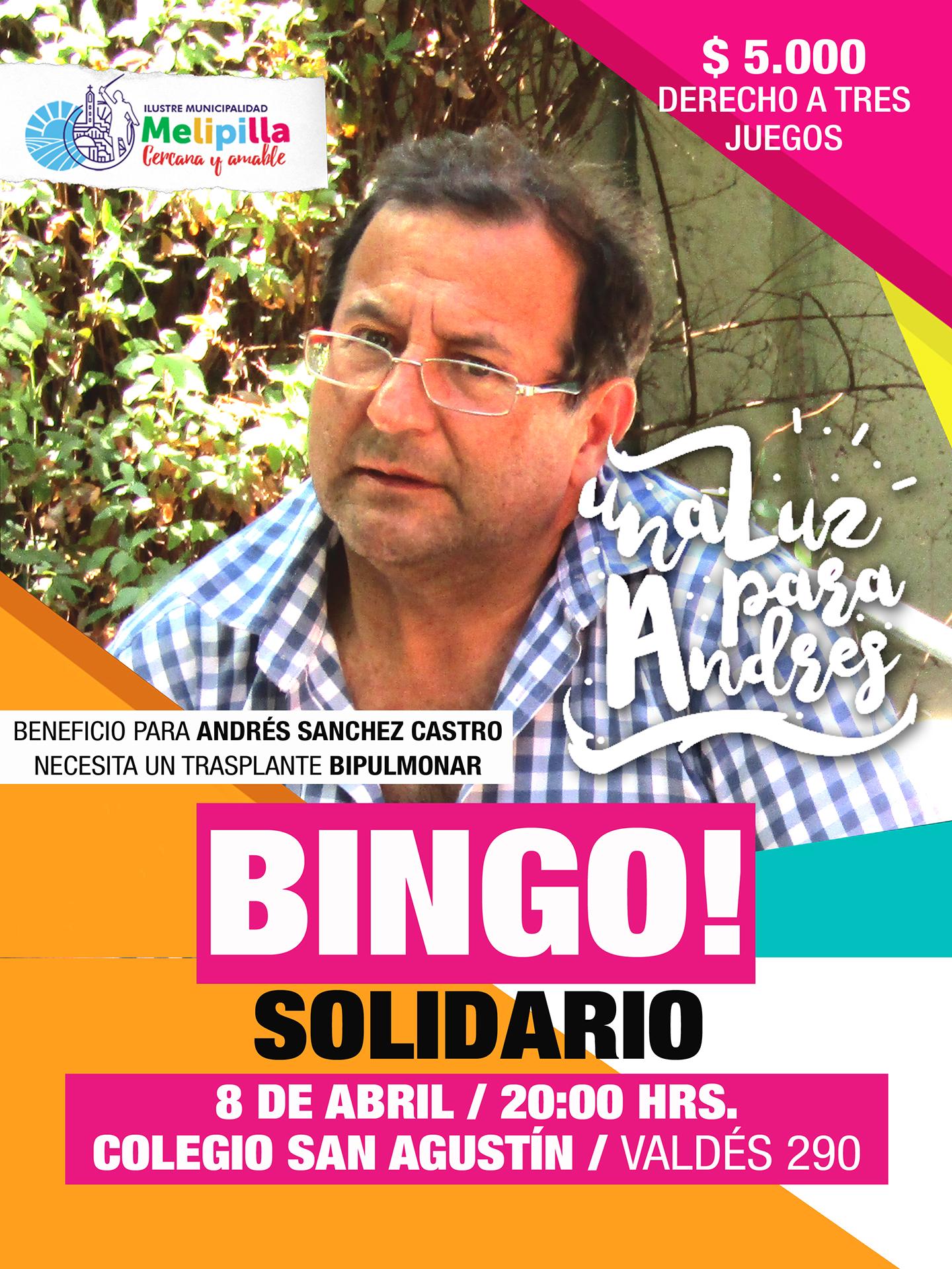 BINGO ANDRES AFICHE