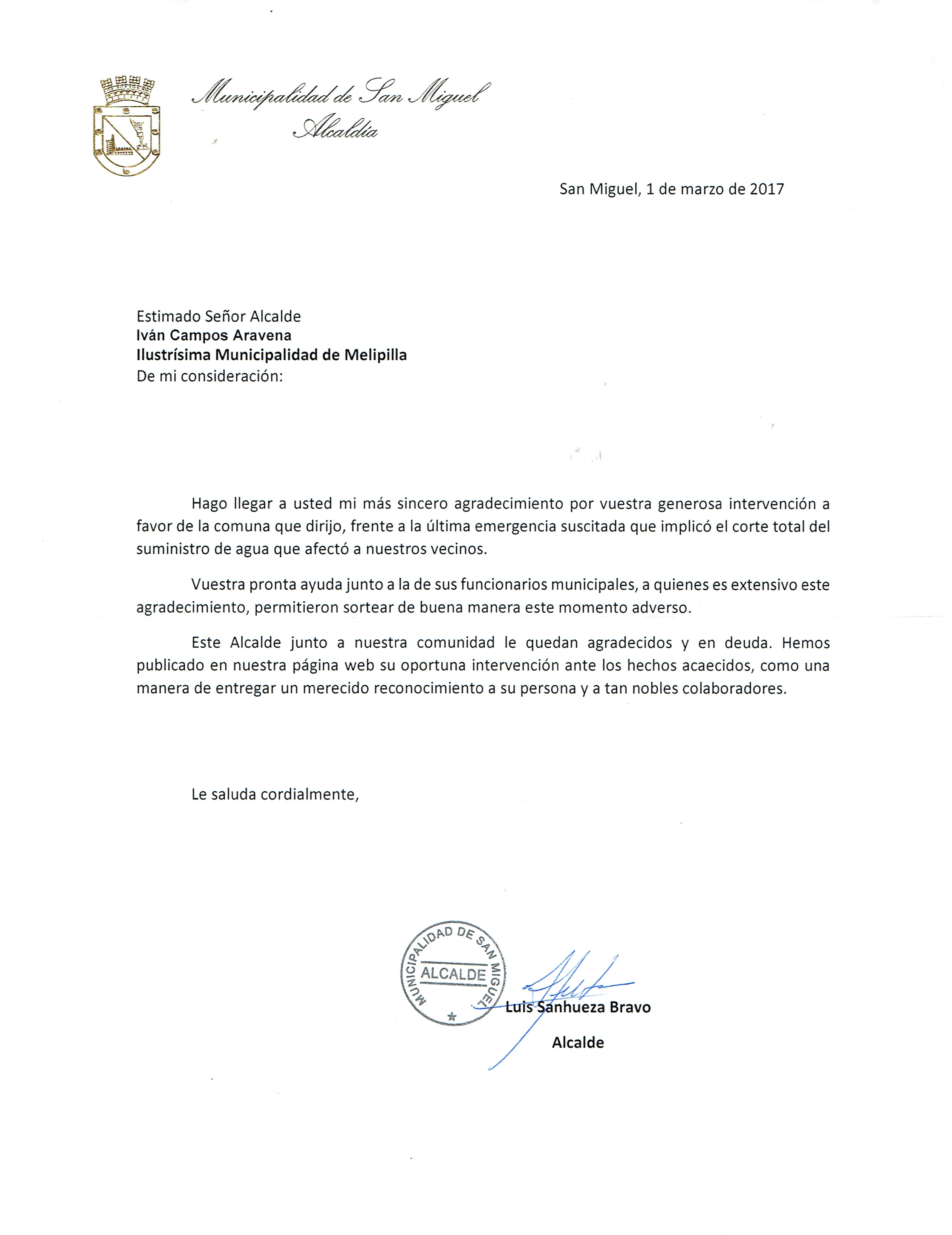 Carta ALCALDE DE SAN MIGUEL09032017