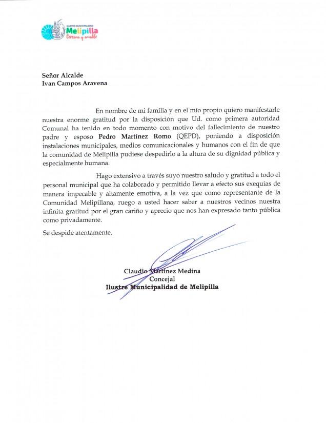 Carta agradecimiento Claudio martinez10042017