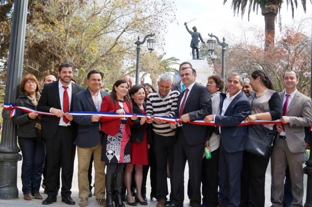 Inauguración Plaza de Armas